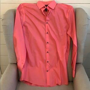 L/S Coral Men's Dress shirt